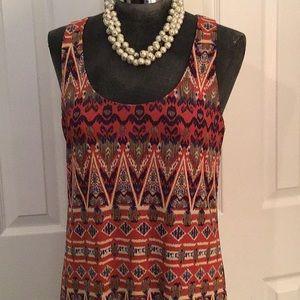 T Bags Los Angeles maxi dress Sz M